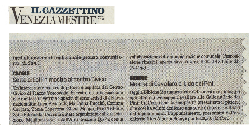 6 press_Corinna Carrara_Il Gazzettino Venezia_26.06.2011